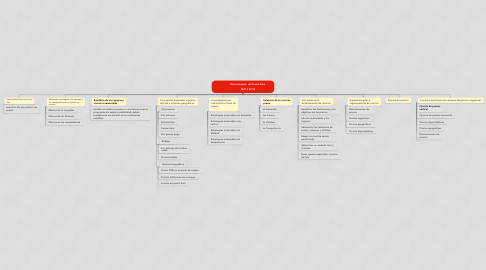 Mind Map: Determinacion  del Precio Final                                                                                                   MKT II (UTH)