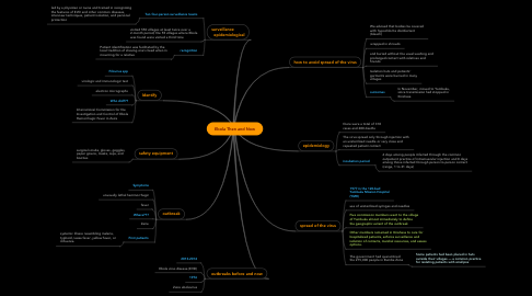 Mind Map: Ebola Then and Now