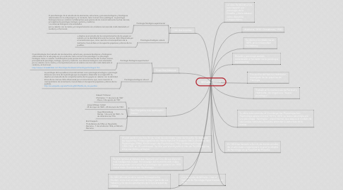 Mind Map: Wilhelm Wundt