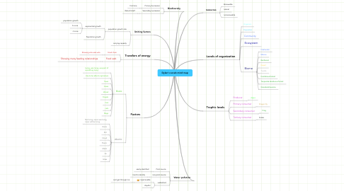 Mind Map: Dylan's vocab mind map