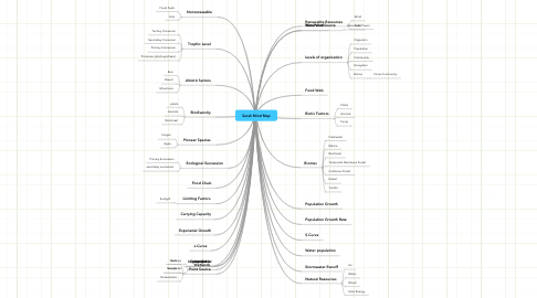 Mind Map: Sarah Mind Map