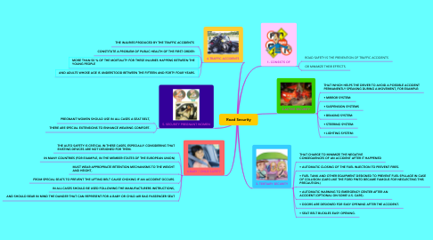 Mind Map: Road Security