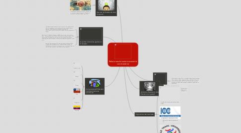 Mind Map: Relaciones de nuestra economía con el exterior