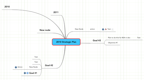 Mind Map: 2010 Strategic Plan