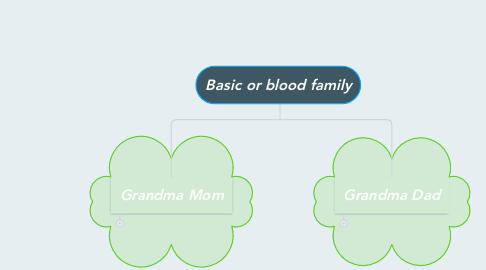 Mind Map: Basic or blood family