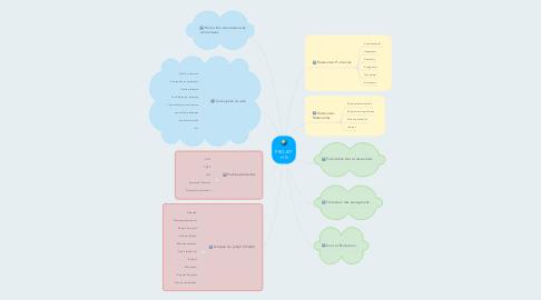 Mind Map: PROJET  HG