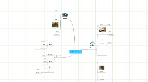 Mind Map: My vocabulary