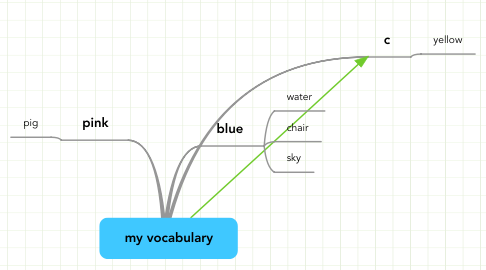 Mind Map: my vocabulary