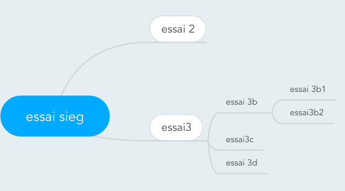 Mind Map: essai sieg