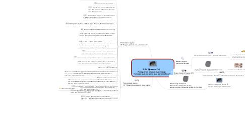 """Mind Map: 2.2.4 Правило 3а)  Конкретно описанный товар  """"резиновый коврик для автомобиля"""""""