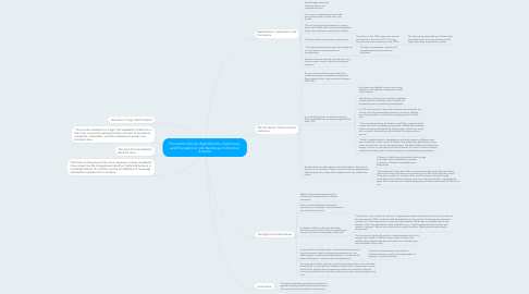Mind Map: Procreation Stories: Reproduction, Nurturance, and Procreation in Life Narratives of Abortion Activists