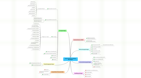 Mind Map: Erziehungswissenschaftliche Grundlagen