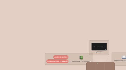 Mind Map: CICLO FORMATIVO DE GRADO SUPERIOR TÉCNICO EN DOCUMENTACIÓN SANITARIA