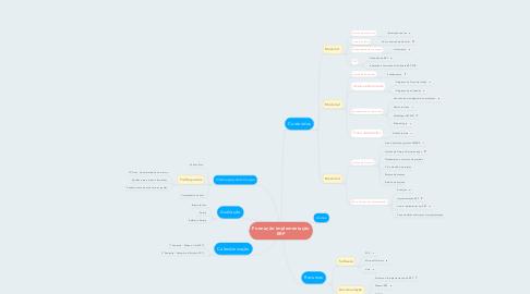 Mind Map: Formação implementação ERP