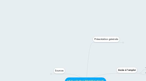 Mind Map: VEILLEUR STRATEGIQUE