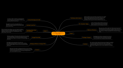 Mind Map: Local Babies, Global Science Chap. 8 & 9