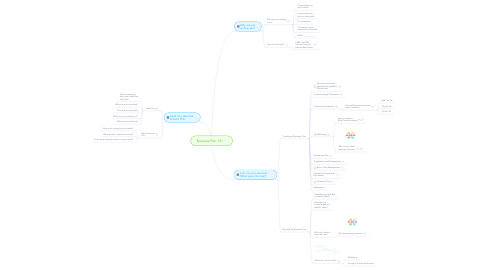 Mind Map: Business Plan 101