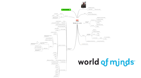 Mind Map: TEDxRdam talk - Jan Bor
