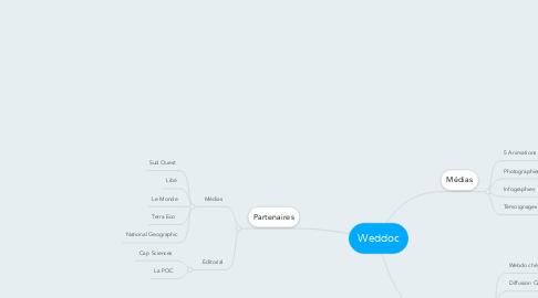 Mind Map: Weddoc