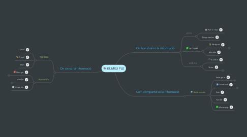 Mind Map: EL MEU PLE