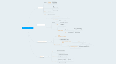 Mind Map: Dérivation des Paradigmes