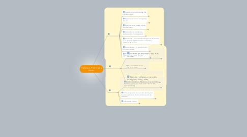 Mind Map: Diptongo, Triptongo y Hiato.