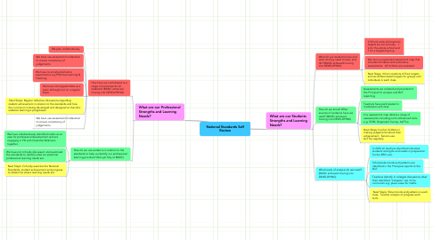 Mind Map: National Standards Self Review