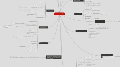 Mind Map: Yhteisö nuotiopaikkana