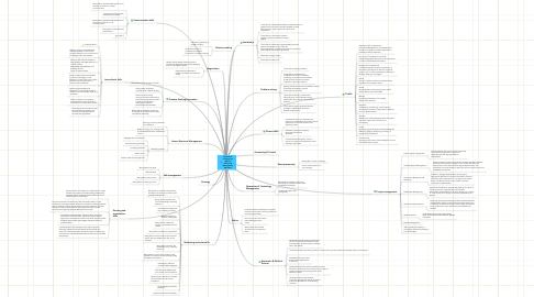 Mind Map: OpenScout Competence Map for Business & Management Education