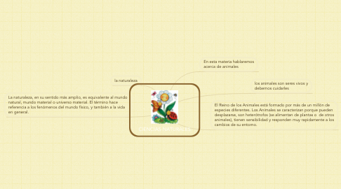 Mind Map: CIENCIAS NATURALES