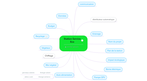 Mind Map: Station Service Eco