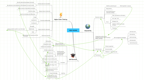 Mind Map: RISK-TAKING