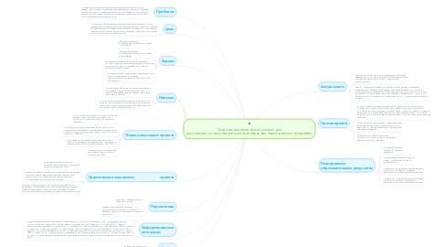 Mind Map: Создание педагогических условий для достижения личностных результатов обучения  через внеклассную работу