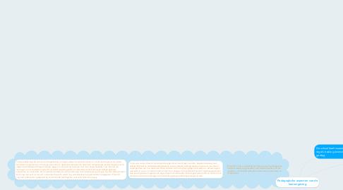 Mind Map: Pedagogische aspecten van de leeromgeving
