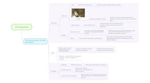 Mind Map: Our Hypothesis