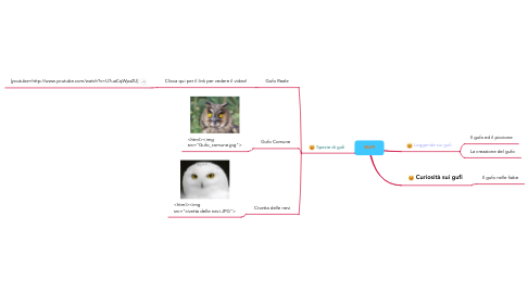Mind Map: GUFI