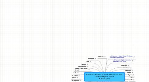 Mind Map: Piattaforme White Label Di Pubblicazione Video Guida Ai Migliori Servizi di Robin Good