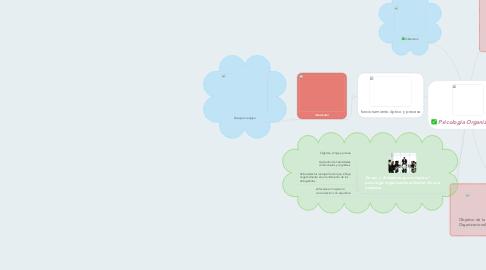 Mind Map: Psicología Organizacional