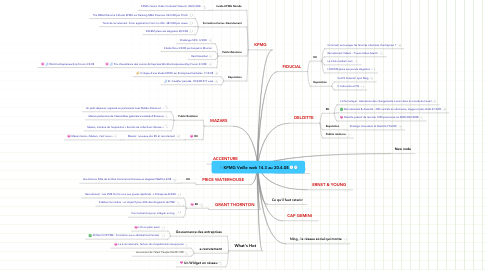 Mind Map: KPMG Veille web 14.3 au 20.4.08