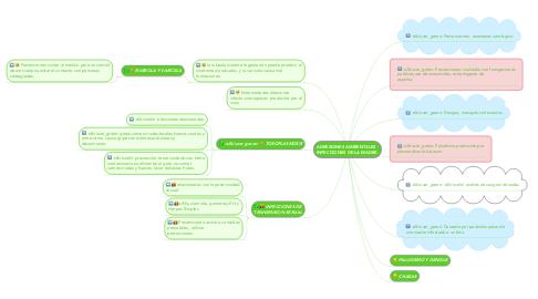 Mind Map: AGRESIONES AMBIENTALES - INFECCIONES DE LA MADRE.