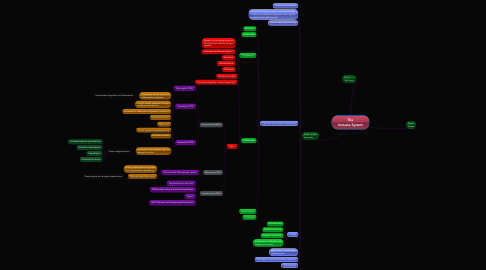 Mind Map: The Immune System