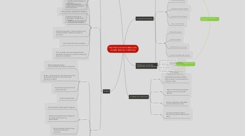 Mind Map: PROPÓSITOS DE FORMACIÓN, COMPETENCIAS Y PERFILES