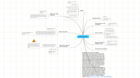 Mind Map: Amazon destruction