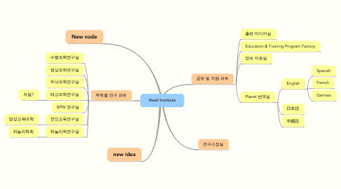 Mind Map: Naeil Institute