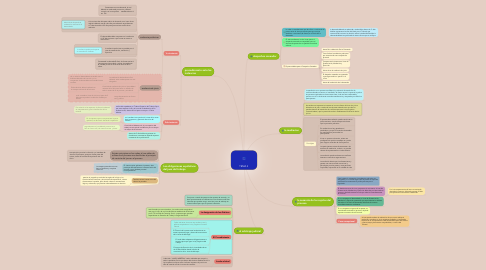 Mind Map: TEMA 3
