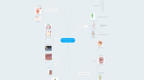 Mind Map: Aspectos anatomicos del cuerpo humano