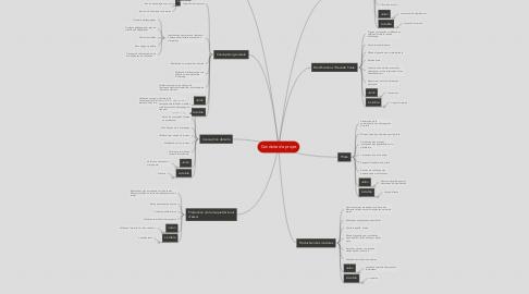 Mind Map: Conduite de projet