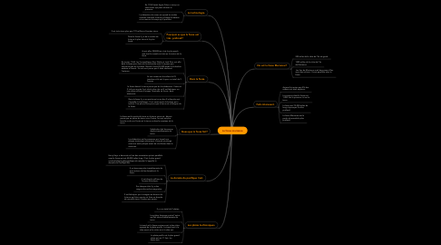 Mind Map: La fosse marianne