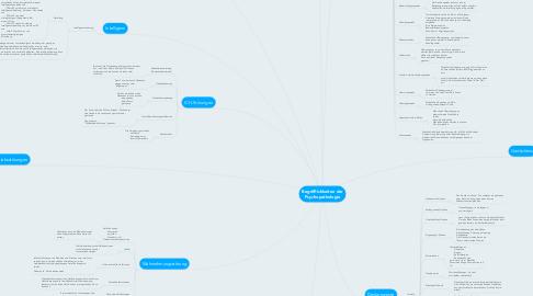Mind Map: Begrifflichkeiten der Psychopathologie