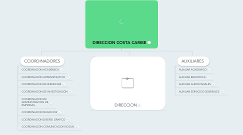 Mind Map: DIRECCION COSTA CARIBE